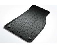 Резиновые передние коврики черные Audi A6, S6, RS 6