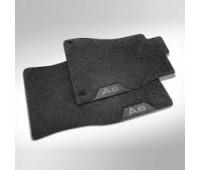 Текстильные коврики задние черные Audi A6, S6, A7, S7, RS 7