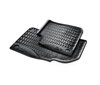 Резиновые передние коврики черные Audi Q7, SQ7