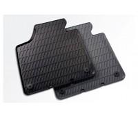 Резиновые передние коврики черные Audi A3, S3, RS 3