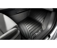 Резиновые передние коврики черные Audi A3, S3