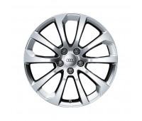 Алюминиевый литой диск в 10-спицевом дизайне цвет «королевский серебристый», 8 J x 18 Audi A4, S4