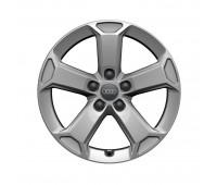 Зимнее алюминиевое литое колесо 5-Arm-Latus-Design «серебристо-бриллиантовое», 7 J x 17 Audi Q2
