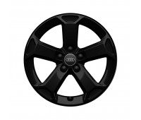 Зимнее алюминиевое литое колесо 5-Arm-Latus-Design черный, 7 J x 17 Audi Q2