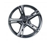 Зимний литой алюминиевый диск 5-Arm-Ramus-Design «серебристо-бриллиантовое», 8,5 J x 19 Audi A5, S5