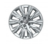 Зимний литой алюминиевый диск в дизайне с 10 лучами «гравис» «серебристо-бриллиантовое», 7,5 J x 18 Audi A4, S4