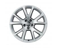 Зимний литой алюминиевый диск в дизайне с 5 V-образными спицами «серебристо-бриллиантовое», 7,5 J x 18 Audi A6