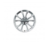 Зимний литой алюминиевый диск в дизайне с 5 V-образными спицами «серебристо-бриллиантовое», 8 J x 19 Audi A7, S7