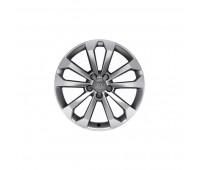 Зимний литой алюминиевый диск в дизайне с 5 V-образными спицами «серебристо-бриллиантовое», 8 J x 18 Audi Q5