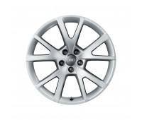 Зимний литой алюминиевый диск в дизайне с 5 V-образными спицами «серебристо-бриллиантовое», 8,5 J x 18 Audi A5