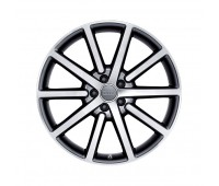 Алюминиевый литой диск в 10-спицевом дизайне «серебристо-бриллиантовое», 8,5 J x 20 Audi Q5