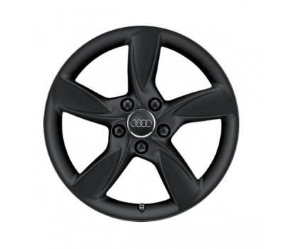 Зимний литой алюминиевый диск в дизайне с 5 спицами Helica «серебристо-бриллиантовое», 6,5 J x 17 Audi A3