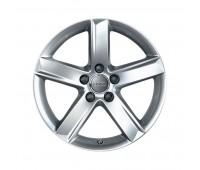 Зимний литой алюминиевый диск, дизайн с 5 спицами «серебристо-бриллиантовое», 6 J x 16 Audi A3