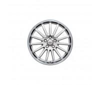 Алюминиевый литой диск в 15-спицевом дизайне «белый Ибис», доведенный до блеска, 8 J x 18 Audi A4, S4