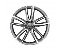 Литой алюминиевый диск в дизайне с 5 параболическими спицами «антрацит», доведенный до блеска, 9 J x 20 Audi A7, S7, A8, S8