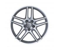 Литой алюминиевый диск в дизайне с 5 сдвоенными спицами серебристый металлик, 7,5 J x 17 Audi A3, S3