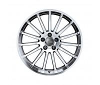 Алюминиевый литой диск в 15-спицевом дизайне «антрацит» «серебристый», 9 J x 19 Audi A5, S5