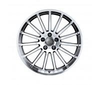 Алюминиевый литой диск в 15-спицевом дизайне «антрацит» «серебристый», 8 J x 18 Audi A4, S4