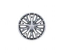 Алюминиевый литой диск, дизайн с Y-образными спицами «антрацит» «серебристый», 8 J x 18 Audi A4, A6