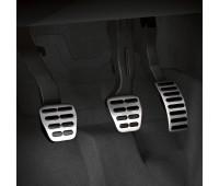 Набор накладок на педали из высококачественной стали для автомобилей с механической коробкой переключения передач Audi A1