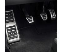 Опора для ноги и накладки на педали из высококачественной стали для автомобилей с механической коробкой переключения передач Audi A1