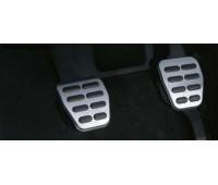 Набор накладок на педали из высококачественной стали для автомобилей с автоматической коробкой передач Audi A1