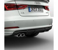 Задний фартук с загрунтованной поверхностью Audi A3