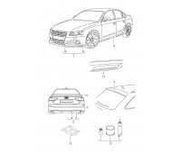 Комплект для склеивания для порогов Audi A1