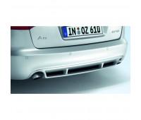Задний диффузор с загрунтованной поверхностью Audi A6