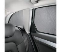 Комплект солнцезащитных шторок на малые задние боковые окна и на заднее стекло Audi A3, S3