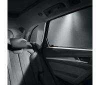 Комплект солнцезащитных шторок для боковых стекол задних дверей Audi Q5, SQ5