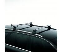 Багажные дуги для автомобилей с рейлингом крыши, серебристые Audi A4