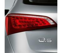 Светодиодные блоки задних фонарей с затемнением Audi Q5