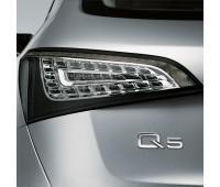 Светодиодные блоки задних фонарей Прозрачное стекло Audi Q5