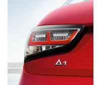 Светодиодные блоки задних фонарей Прозрачное стекло Audi A1