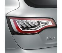Светодиодные блоки задних фонарей Прозрачное стекло Audi Q7