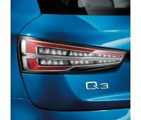 Блок светодиодных задних фонарей Прозрачное стекло Audi Q3, RS Q3